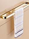 Barre porte-serviette Ti-PVD Fixation Murale 22.6*2.2*1.1 inch Laiton Contemporain