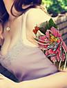 1 - Series bijoux / Series de fleur / Series de totem / Autres - Multicolore - Motif - 22*15cm - en Paillettes - Tatouages Autocollants -