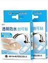 yunnanbaiyao® 10pc impermeable aide de bande de bandage transparent pate de talon
