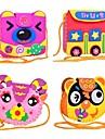 pedagogisk leksak diy barn tecknade handarbete ryggsäck hantverk enda axelväska handgjorda barn hobbies leksaker 3D-pussel