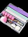 12pcs nail art tout dans le kit d\'outils de preparation (couleur aleatoire)