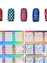1 Autocollant d\'art de clou Manucure Pochoir Moules 3D en  acrylique pour ongles Fleur Maquillage cosmetique Nail Art Design
