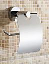 Porte Papier Toilette Chrome Fixation Murale 13*23*18cm Acier Inoxydable Contemporain
