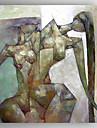 Pictat manual OameniModern Un Panou Canava Hang-pictate pictură în ulei For Pagina de decorare