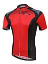 XINTOWN® Cykeltröja Herr Kort ärm Cykel Andningsfunktion / Snabb tork / Ultraviolet Resistant / Begränsar bakterier Tröja / Överdelar