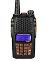 anysecu uv-6R 256ch UHF VHF 136-174 / 400-520mhz dual band hf radiosändtagare