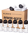 Cotier®8CH NVR Kits 720P/960P/1080P/Outdoor/ONVIF/P2P/IP Camera N8B-Mini/L