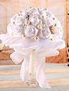 "Flori de Nuntă Rotund Trandafiri Buchete Satin 7.09""(Approx.18cm)"