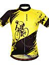 Wosawe® Cykeltröja Dam / Unisex Kort ärm Cykel Andningsfunktion / Snabb tork / Anatomisk design / FuktgenomtränglighetCollegetröja /