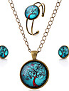 Set bijuterii Piatră Preţioasă Hârtie Reciclabilă Aliaj stil minimalist Maro Petrecere Zilnic Casual 1set Coliere Σκουλαρίκια Brățară