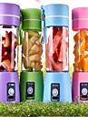 380 ml elektriska bärbara USB uppladdningsbara milkshake juice mixer shaker flaska