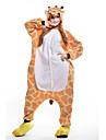 Kigurumi Pyjamas nya Cosplay® / Giraff Leotard/Onesie Halloween Animal Sovplagg Orange Lappverk Polar Fleece Kigurumi UnisexHalloween /