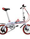 Folding Cyklar / Barn Cyklar Cykelsport 6 hastighet 14 tum 44mm Unisex / Herr / Unisex barn Dubbel skivbroms Vanlig Aluminiumlegeringsram
