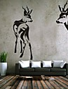Djur / Romantik / Fashion / abstrakt / fantasi Wall Stickers Väggstickers Flygplan,PVC M:42*65cm+39*109cm / L:54*80cm+50*143cm