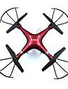 Drönare FPV X6G 4 Kanaler 6 Axel 2.4G Med kamera Radiostyrd quadcopterFPV / Retur Med Enkel Knapptryckning / 360-Graders Flygning / Hover