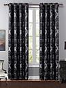 Un Panneau Le traitement de fenetre Europeen Chambre a coucher Polyester Materiel Rideaux occultants rideaux Decoration d\'interieur For