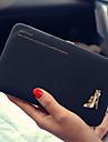 Formel / Soiree / Fete / Utilisation Professionnelle / Shopping-Portefeuille / Etui a Carte & Piece d\'Identite-Polyurethane-Femme
