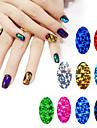 1pcs glass starry nail stickers-Autre decorations-Doigt / Orteil- enAbstrait-4cm*7cm each piece