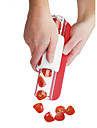 1 st Tomat Skärare & Skivare For för frukt för grönsaker Rostfritt Stål Miljövänlig Kreativ Köksredskap Originella