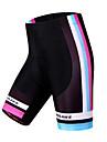 Wosawe® Vadderade cykelbyxor Dam Andningsfunktion / Snabb tork / Vindtät / Begränsar bakterier / 3D Pad CykelShorts / Vadderade shorts /