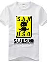 Inspirerad av lönnmord klassrummet Korosensei Animé Cosplay Kostymer/Dräkter Cosplay T-shirt Tryck Svart Kort ärm T-shirt