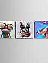 Mini e-home oljemålning modern mode djur ren hand dra ramlösa dekorativt måleri