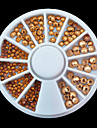 1whee gold nail decorations-Bijoux pour ongles-Doigt- enAdorable-6cm wheel