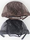 mesh kupol stil peruk cap för att göra peruker med justerbar rem på ryggen vävning cap storlek m limfria peruk mössor 1st