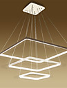 Modern Design/70W LED Pendant Light Squareness/Fit for Living,Dining Room,office