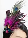 Women\'s Feather Headpiece-Special Occasion Fascinators 1 Piece