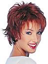 2015 nouvelle alice boucles tourne courtes synthetiques perruques bordeaux perruque de cheveux pour les femmes
