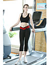 Femme Course / Running Corsaire Leggings Bas Respirable Compression Anti-transpiration Printemps Ete AutomneYoga Pilates Exercice &