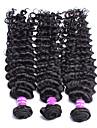 3st / lot obearbetade protea hårprodukter peruanska jungfru hår vinkar djupt 100% peruansk hår vinkar djupt