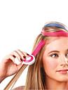 nya 4 färg / set Hot europeiska mode tillfällig hår kritpulver tillfällig pastellhårfärgnings tillfällig wash-out