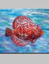 Peint a la main Abstrait / Animal / Paysages Abstraits / POPModern Un Panneau Toile Peinture a l\'huile Hang-peint For Decoration