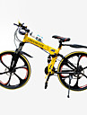 "JinDie™  21 Speeds  26""Mountain Bike 5 Spokes Wheel Folding Cycling"