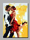 pictură în ulei moderne mână pur abstract remiză gata să stea decorative cu ulei pictura iubitorii de dans