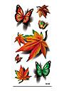 Unbranded - Tatueringsklistermärken - Non Toxic / Mönster / Halloween / Ländrygg / Waterproof / 3D - Djurserier / Blomserier / Annat-