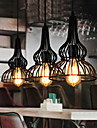 MAX 60W Hängande lampor ,  Vintage Målning Särdrag for Ministil MetallLiving Room / Bedroom / Dining Room / Sovrum / Matsalsrum / Badrum