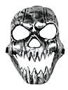 Mask Skelett/Dödskalle Festival/Högtid Halloween Kostymer Vit Tryck Mask Halloween Unisex