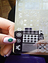 1pcs  New Nail Art Stamping Plates  DIY  Image Templates Tools Nail Beauty XY-J11-16