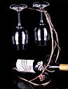 nya årgången vin flaskhållare metall vinställ druvsorter glas koppar hängande hållare levo bar verktyg