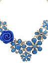 Dame Coliere Aliaj La modă Albastru Închis Albastru Roz Culori Asortate Bijuterii Nuntă Petrecere Zilnic Casual 1 buc