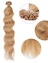 """neitsi 20 """"1g / s keratin fusion u spiken spets naturlig våg 100% mänskliga hårförlängningar 27 #"""