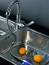 Nutida Utdragbar / Pull-down Horisontell montering Flush Mount Lights / Utdragbar dusch / Roterbara with  Keramisk VentilSingel Handtag
