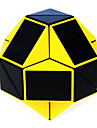 Shengshou® Cube de Vitesse  Alien Vitesse Cubes magiques Noir Bleu ABS