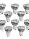 MORSEN Lampadas de Foco de LED Regulavel GU10 / GU5.3(MR16) 5W 350-400 LM K Branco Quente / Branco Frio LED de Alta Potencia 10 pcsAC