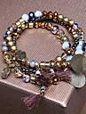 Bracelet- enAlliage-Decontracte-Perle / Elastique / Multiple