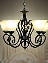 40W Hängande lampor ,  Traditionell/Klassisk Målning Särdrag for Flush Mount Lights / designers MetallLiving Room / Bedroom / Dining Room