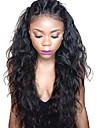 dentelle de cheveux humains devant perruques sans colle naturelle des vagues avant de lacet ondule humide perruque bresiliens vierges